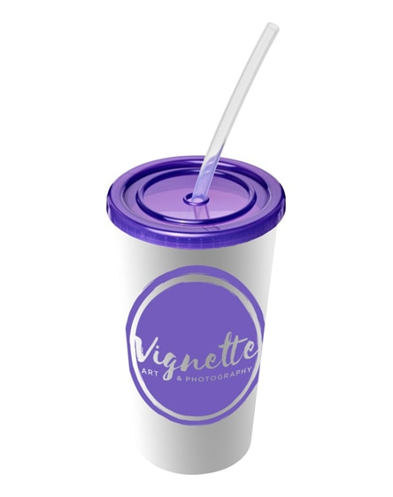 branded brite-americano double-walled stadium cup