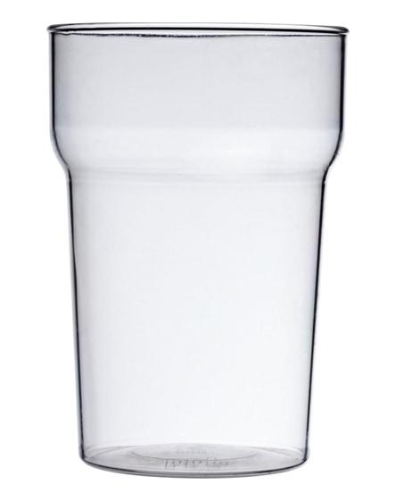 branded nonic premium plastic tumbler