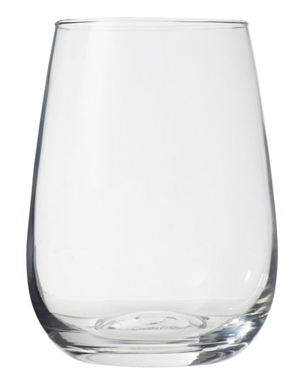 branded barola wine glass writing set