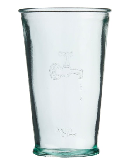 branded ford water carafe made from recycled glass