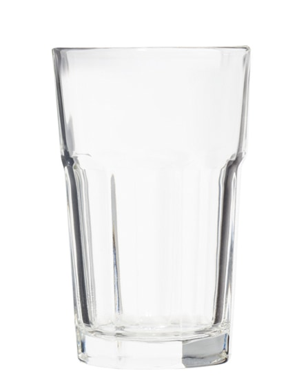 branded linden 2-piece glass set with coaster