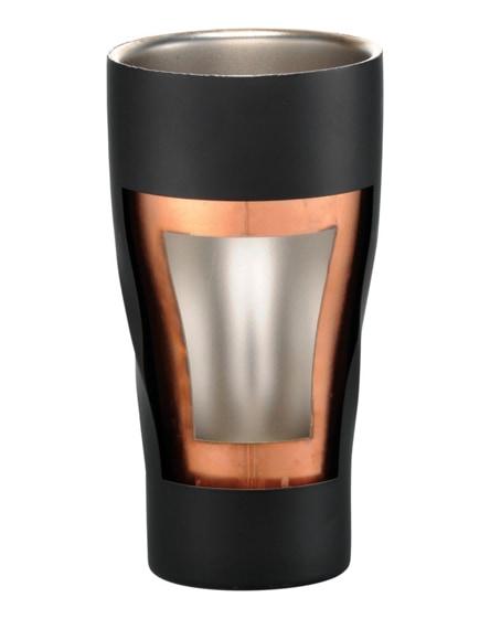 branded hugo copper vacuum insulated tumbler