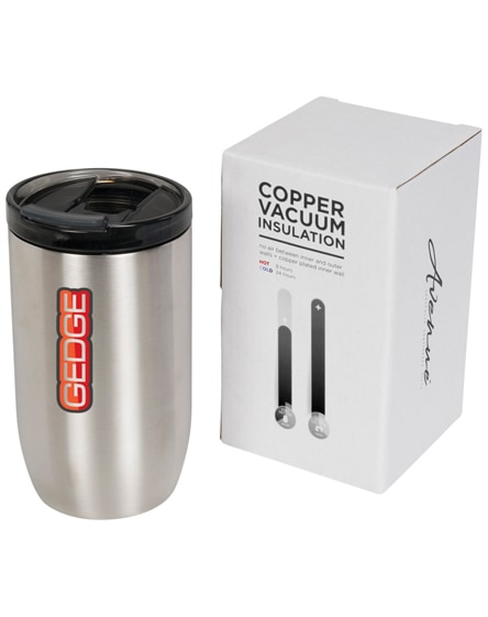 branded lagom copper vacuum insulated tumbler