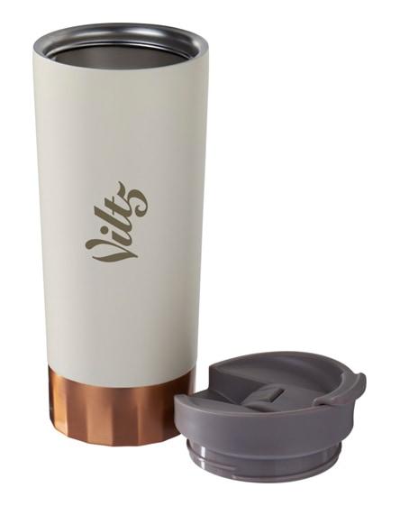 branded peeta copper vacuum insulated tumbler
