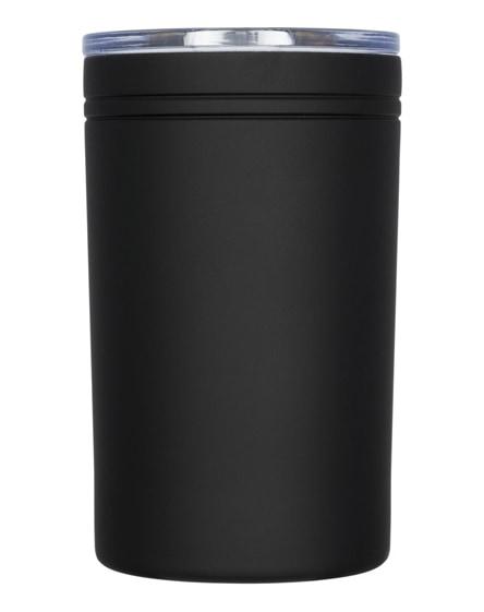 branded pika vacuum insulated tumbler and insulator