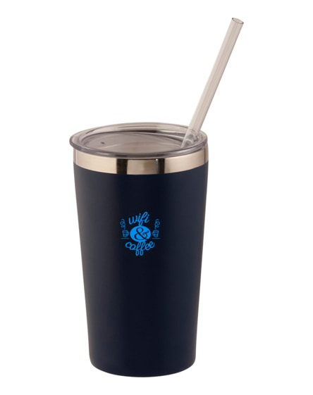 branded thor copper vacuum insulated tumbler