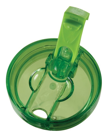 branded flip n sip geometric insulated tumbler