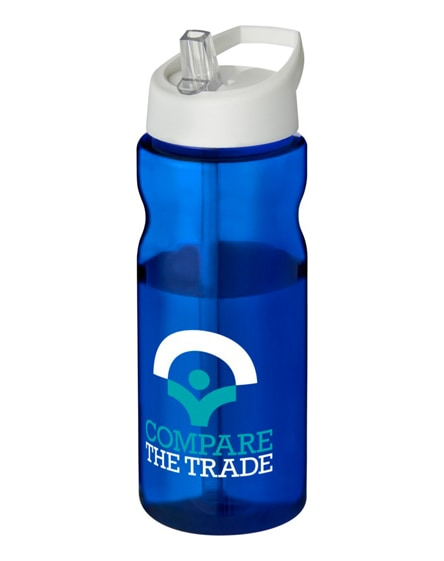 branded h2o base spout lid sport bottle