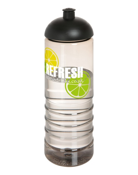 branded h2o treble dome lid sport bottle