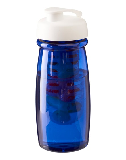 branded h2o pulse flip lid sport bottle & infuser