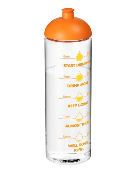branded h2o vibe dome lid sport bottle