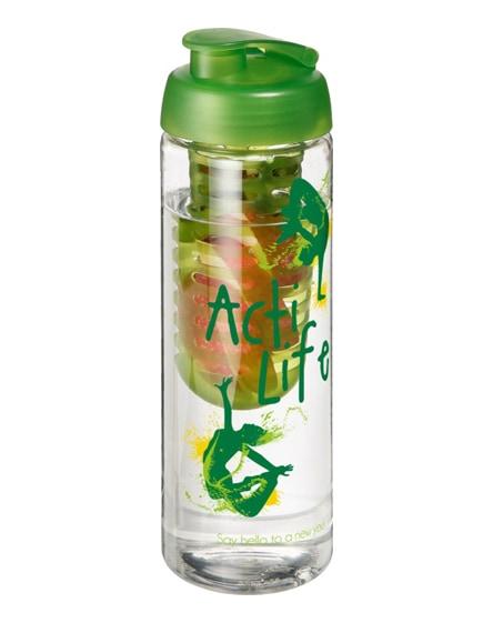 branded h2o vibe flip lid bottle & infuser