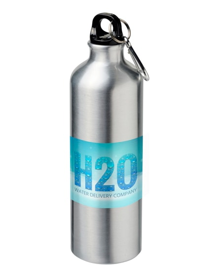 branded pacific sublimation sport bottle with carabiner