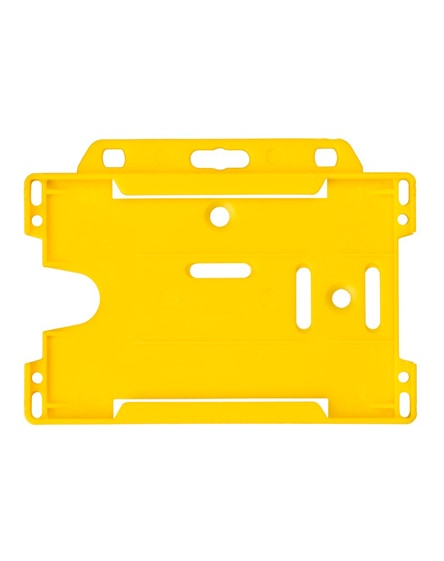 branded vega plastic card holder