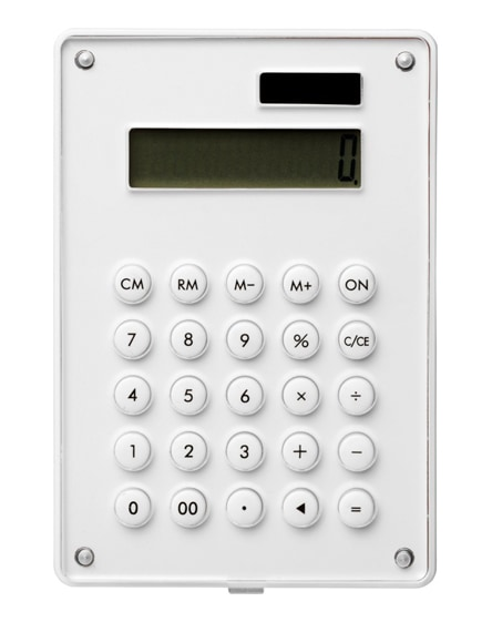 branded cyrus calculator with full-colour branding