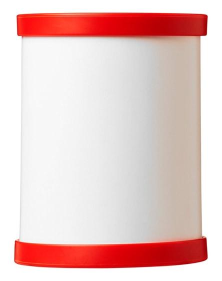 branded deva round card pen holder with plastic trim