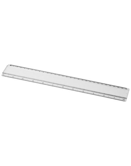 branded ellison 30 cm plastic ruler with paper insert