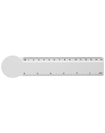 branded loki 15 cm circle-shaped plastic ruler
