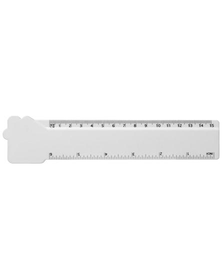 branded loki 15 cm house-shaped plastic ruler