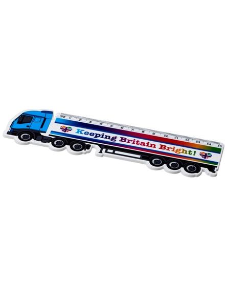 branded loki 15 cm lorry-shaped plastic ruler
