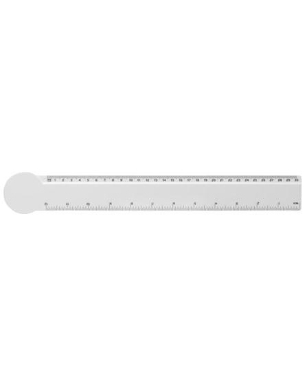 branded loki 30 cm circle-shaped plastic ruler