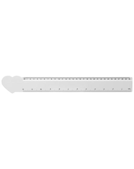 branded loki 30 cm heart-shaped plastic ruler