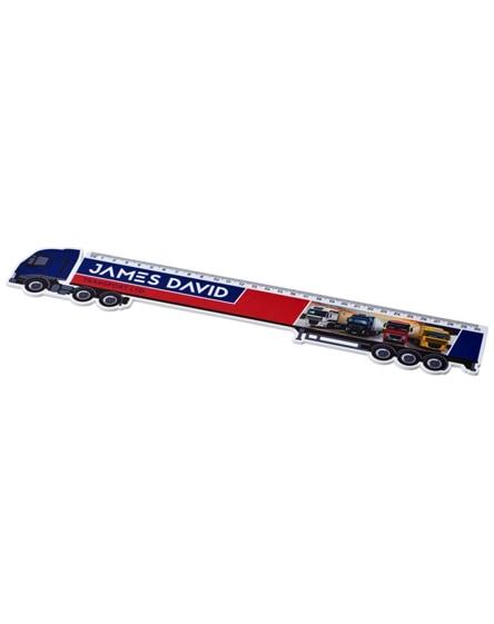branded loki 30 cm lorry-shaped plastic ruler