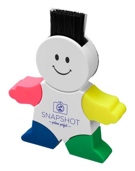 branded mr. highlighter 4-colour highlighter