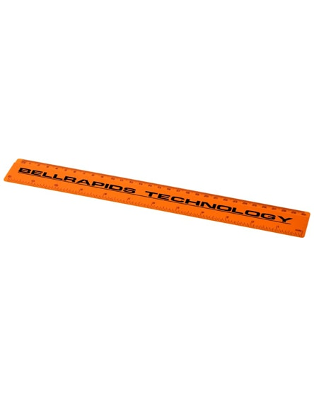 branded renzo 30 cm plastic ruler