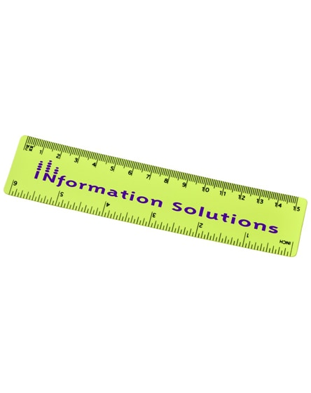 branded rothko 15 cm plastic ruler