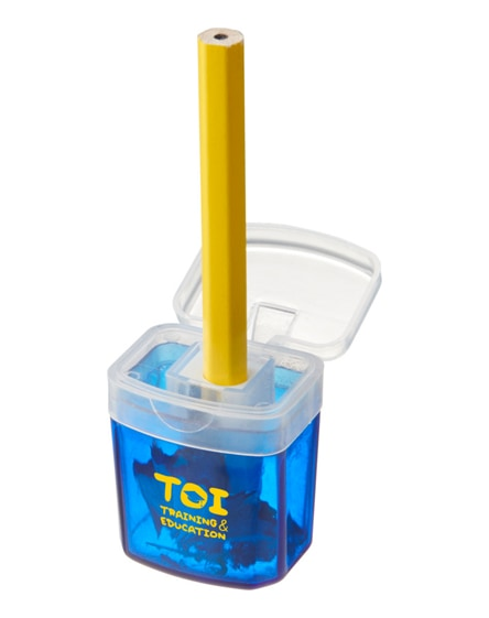 branded sharpi sharpener with container