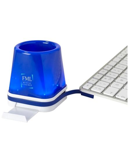 branded shine 4-in-1 usb desk hub