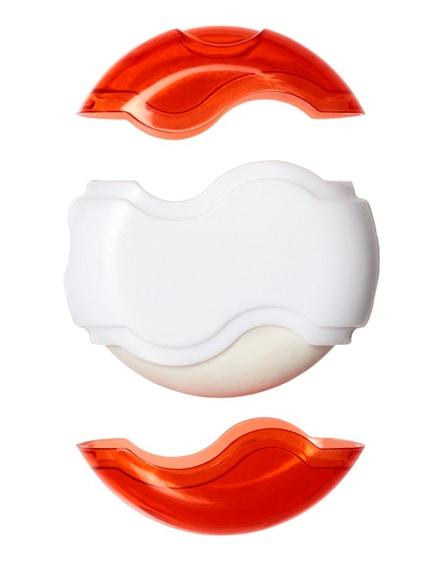 branded wave sharpener and eraser