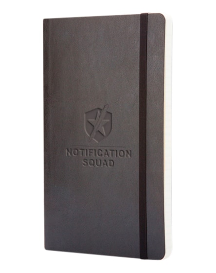 branded classic l soft cover notebook - ruled