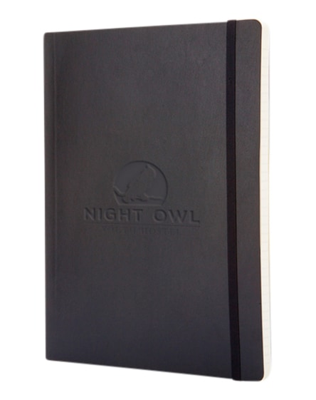 branded classic xl soft cover notebook - ruled