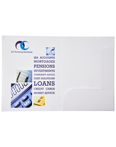 branded guild a4 card document wallet