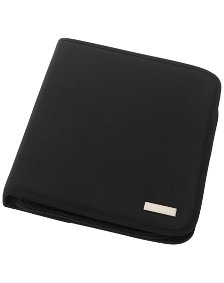 branded stanford deluxe a4 zippered portfolio