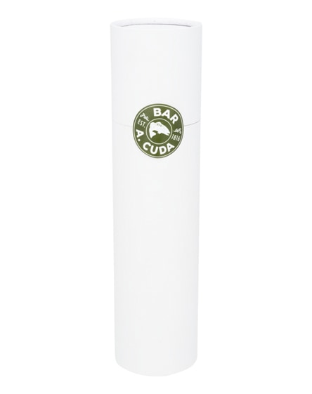 branded cylindric gift box for foldable umbrella