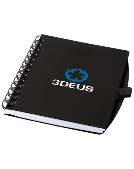 branded adler spiral notebook