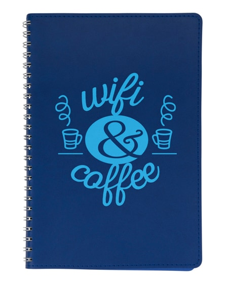 branded brinc a5 soft cover notebook