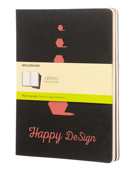 branded cahier journal xl - plain