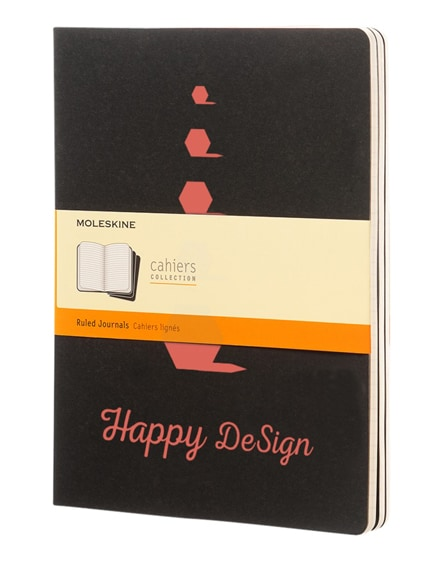 branded cahier journal xl - ruled