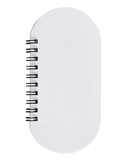branded capsule notebook