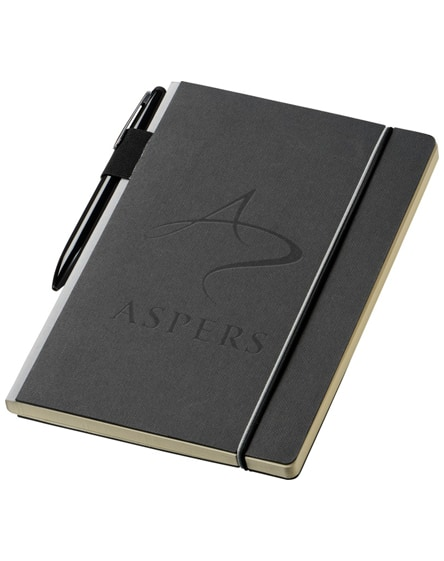 branded cuppia a5 hard cover notebook