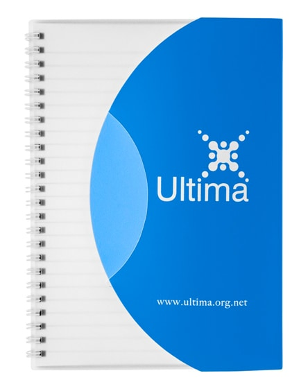 branded curve a5 notebook