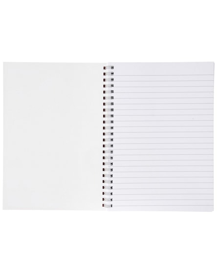 branded desk-mate a4 notebook synthetic cover
