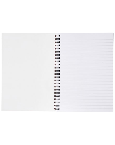 branded desk-mate a5 notebook synthetic cover