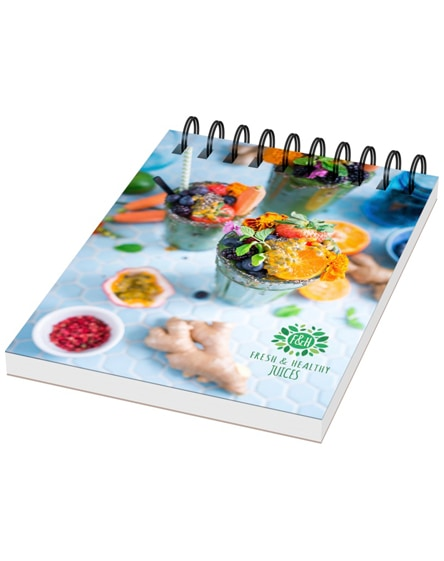 branded desk-mate a7 notebook synthetic cover