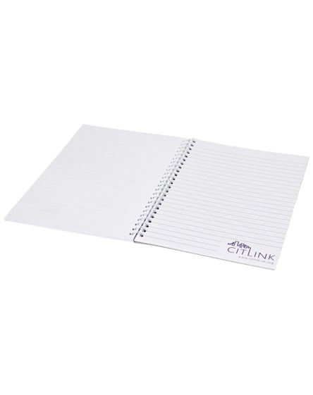 branded desk-mate wire-o a4 notebook