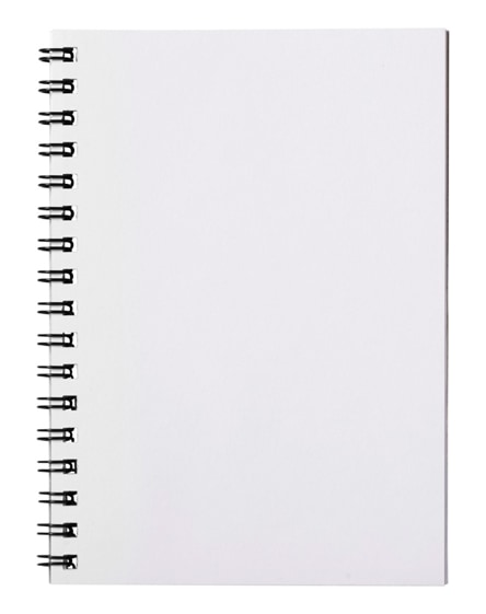 branded desk-mate wire-o a6 notebook pp cover